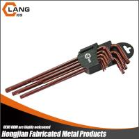 Brown Oxide 9PCS Extra Long Star L Key Wrench Set Manufactures