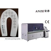 China Electric Leather Perforating Machine / Fabric Shoe Upper CNC Perforating Machine on sale