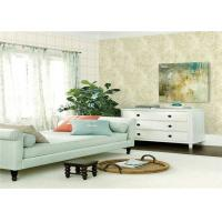 Classic Damask Non Woven Wallpaper Heat Insulation For Hotel , Home Manufactures