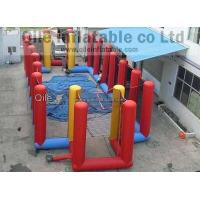 Custom Giant Inflatable Sports Games Bungee Soccer Field Sport Game Manufactures