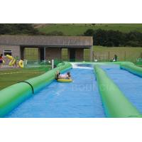 100m Giant Inflatable Slip N Slide With Pool For Kids And Adults Manufactures