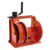 Orange Heavy Duty Hand Lifting Winch Manual Hand Winch For Boat Manufactures