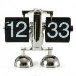 best price flip over clock libra flip clock ,metal table clock Manufactures