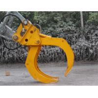 Excavator Hydraulic Log grab Bucket Manufactures