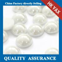 Quality Korea rhinestone pearl,hotfix pearl rhinestone,high quality ceramic pearl rhinestone 0825 for sale