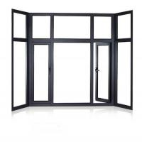 China PRIMA best price clear glass aluminum casement window drawing on sale