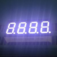 """0.36"""" 4 Digit 7 Segment LED Display IC Compatible Low Power Consumption Manufactures"""
