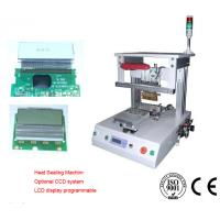 Rotary Air Cooling Hotbar Welding Machine 0.4 To 0.6 MPa 2 Set Vaccum Manufactures