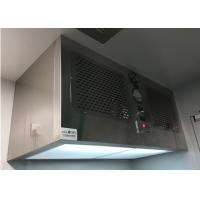 Cleanroom Professional Ceiling And Wall Laminar Flow Air Diffusers With HEPA Filters Manufactures