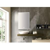 Multi Function Touch Screen Light Up Mirror , Anti Fog Touch Vanity Mirror IP20 Manufactures