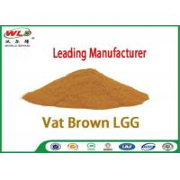 Professional Synthetic Dyes Vat Brown Lgg Natural Textile Dyes Eco Friendly Manufactures
