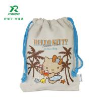 China Factory wholesale product cheap price cotton small drawstring bags High Quality Customized Cotton Muslin Drawstring Bag on sale