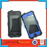 PC + TPU Tough iPhone 5s Waterproof Case Rugged Environmental-Friendly Manufactures