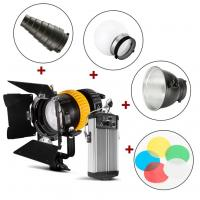 80W Spotlight LED Studio Lights Dual Color Temperature Control With Hight CRI Index Manufactures