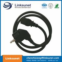 European Custom Cable Harness Power Line 3 G 0.75 Black Length Customized Manufactures