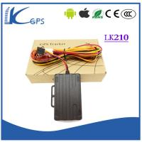 High Quanlity 3G gps vehicle tracking iridium , Motorcycle Gps Tracking Device lk210-3g Manufactures