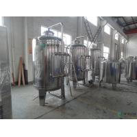 Mineral Water Purifying Machine Semi Automatic UF Water Treatment Manufactures