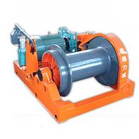 Buy cheap Speed Change Electric Wire Rope Winch , Moving Heavy Loads 3 Ton - 20 Ton from wholesalers