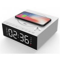China DIY 4.2 Creative Bluetooth Speakers With Mobile Phone Wireless Charger / Alarm Clock on sale