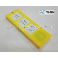 Plastic ABS material ABC Alphabets Sound Module For Child Sound Book, Child Board Book. Manufactures