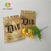 Buy cheap Gold Royal Kratom Bali Foil Ziplock Packing Bags , Stand Up Pouch Bags For from wholesalers