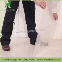 Surface Temporary Protection 0.05mm-0.20mm Thickness PE Film Carpet Protector Manufactures