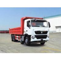 336 hp 8x4 heavy duty dump truck front lift HW76 cab , Howo tipper truck Manufactures