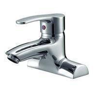 Single Handle Double Hole Brass Basin Faucet Mixer Manufactures