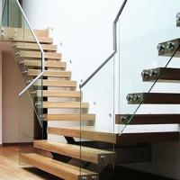 China Portable modern floating straight stair led stair light hide under stair nosing design on sale