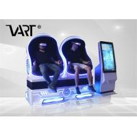 Luxury Virtual Reality Systems Experience 2 Seats 9D Vr Cinema With 42 Inch Control Panel Manufactures
