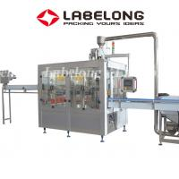 China PET / Glass Bottle Liquid Bottling Machine For Juices Mineral Water Purified Water on sale