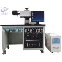 China 20w 30w 50w Fiber Laser Marking Machine , Metal Uv Laser Engraver Printer on sale
