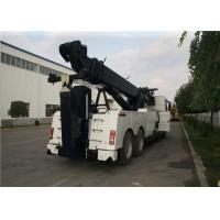 Buy cheap 8x4 Drive 99 Km/H Custom Wrecker Trucks , VOLVO Chassis Heavy Duty Wrecker from wholesalers