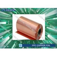 Double Shiny  RA Copper Foil For FPC ,Roll Size  Maximum Width 650 Manufactures