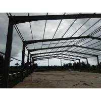 China Quick Build Prefab Steel Structure Warehouse Customized Color / Size No Crane on sale