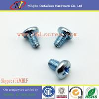Buy cheap Pan Head Type F Thread Cutting Screws from wholesalers