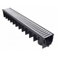 China Plastic Trench Drain 100MM Width Inner for sale