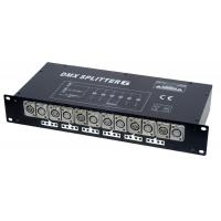 High Power Amplifier DMX Lighting Splitter / DMX Splitters 6 CH for Celebration , Wedding Manufactures