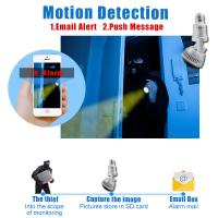 EAZZYDV Wireless  Bulb Wifi Camera Indoor Security Camera with LED light and Remote Control