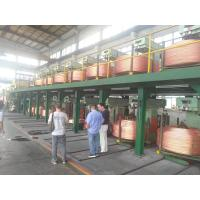 Copper Rod 6mm-60mm Wire And Cable Machinery  , Upward Casting Machine Manufactures