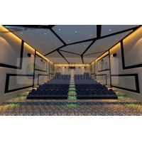 Luxury Large 4D Movie Theatre With Control System For 120 Persons Manufactures