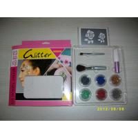 China shimmer glitter tattoo set on sale