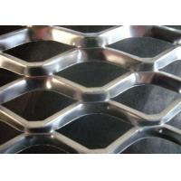 Expanded Steel Diamond Mesh Punched Process Customized Wire Diameter for sale