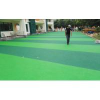 Lower Gravity Playground Rubber Flooring , Heat Resistant Rubber Play Area Chippings Manufactures