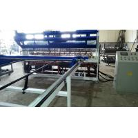 PLC Control Fence Mesh Welding Machine , Automatic Steel Wire Mesh Machine Manufactures