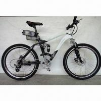 BMX/Electric Bike with Meatl Alloy Frame, Shimano 7 Speed, 250W Motor/Lithium-ion Batter/CE-passed Manufactures