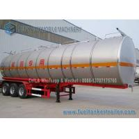 SUS304 2B Chemical Oil Tank Trailer 3 Axle 39000 L Milk Tanker Trailer Manufactures