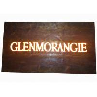 Custom Resin Illuminated Wooden Signs , Wall Mounted Personalized Bar Signs Manufactures