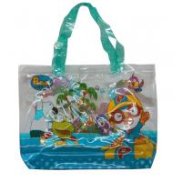 Colorful Printing Fabric Carrier Bags , 30c Transparent PP Shopping Bag Manufactures