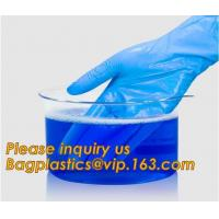 Medical Disposable Nitrile Coated Hand Gloves,Industrial Garden Working Resistant Disposable Nitrile Black Gloves BAGEAS Manufactures